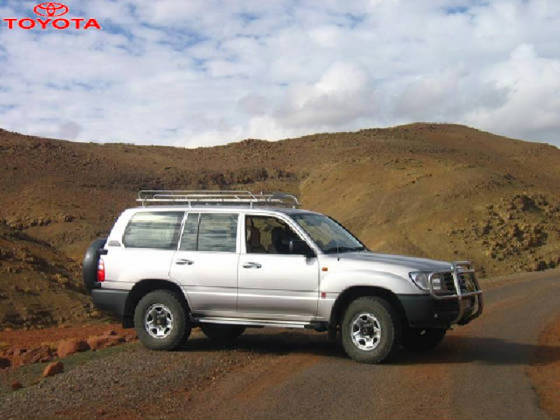 The new Toyota Land Cruiser GX