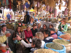 Souk of Rissani herbs